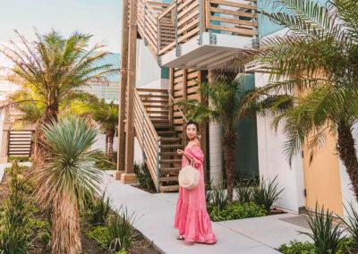 Jane Ko Lively Beach courtyard