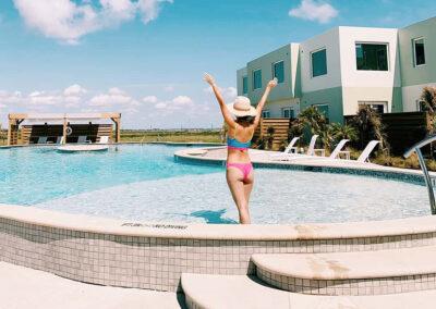 Jane Ko Lively Beach pool